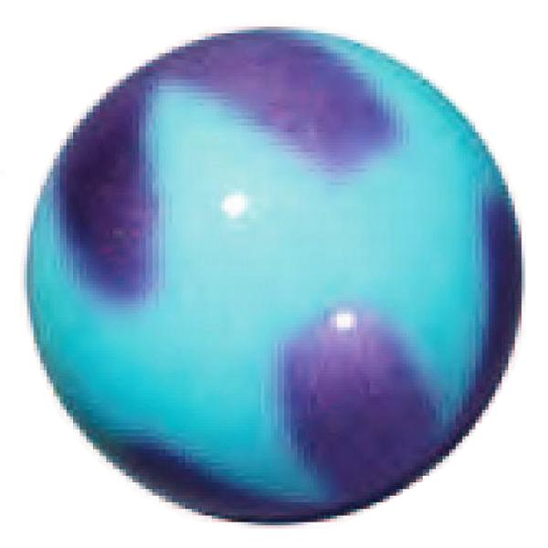 Ball Sasaki M-203BR PPxLIBU 18,5cm col. Purple x LightBlue FIG