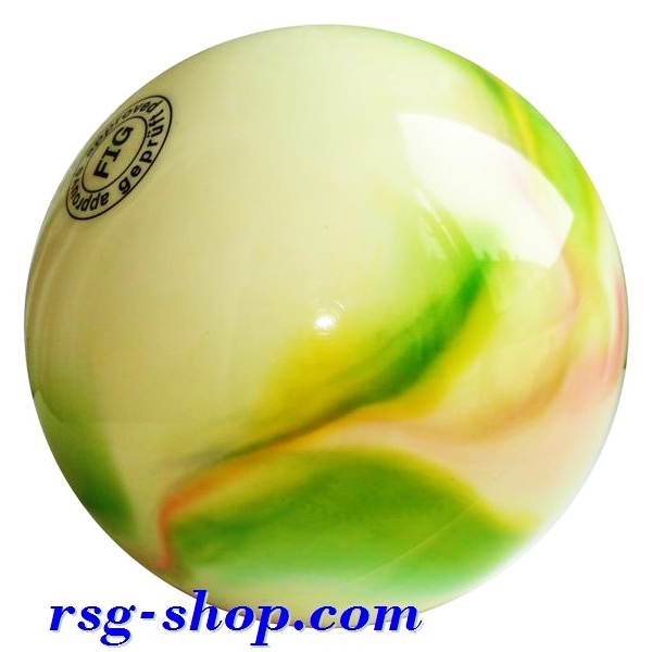 Ball 18 cm Metallic-Multicolor col. Pink-Green-Yellow Art. T0122