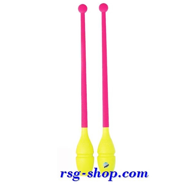 Булавы Sasaki M-309 BRYxP цв. Yellow - Pink 45cм FIG
