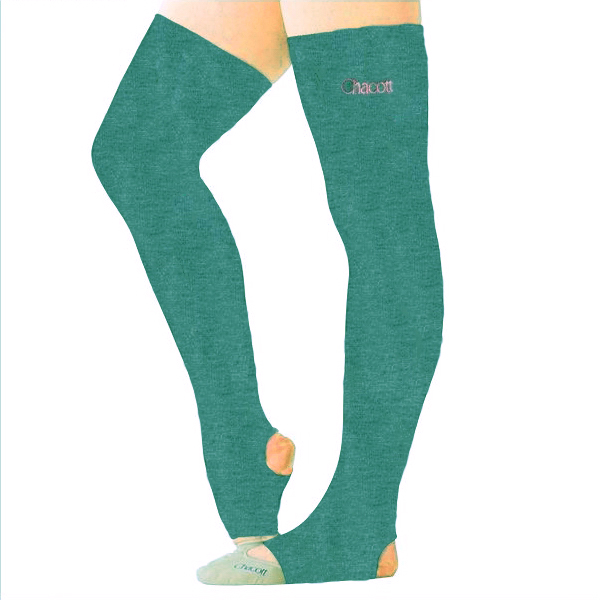 Leg covers Chacott One size in Aqua-Green Art. 00535