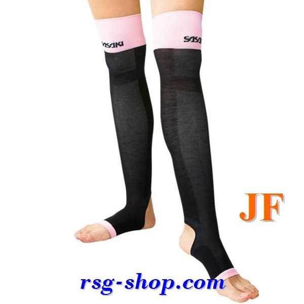 Photo Compression Legwarmers Sasaki T-140 B size JF (Junior