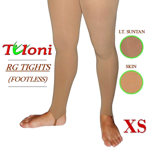 Footless Tights Tuloni s. XS (121-145) col. Lt. Suntan T03982XS