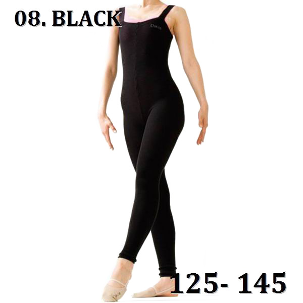 Overall 2way Knit Chacott Junior Gr. 125-145 col. Black Art. 102-08009