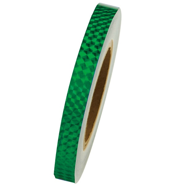 1 Meter x Chacott Holographic Tape col. Green Art. 90120