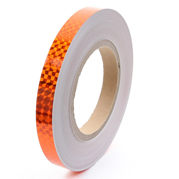 1 Meter x Chacott Holographic Tape col. Orange Art. 90124