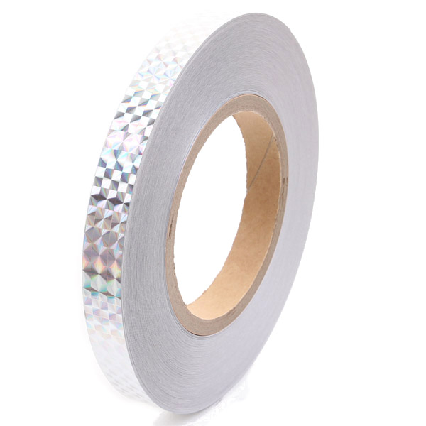 1 Meter x Chacott Holographic Tape col. Silver Art. 58598