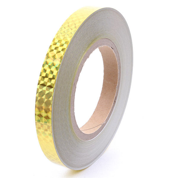 1 Meter x Chacott Holographic Tape col. Gold Art. 58599