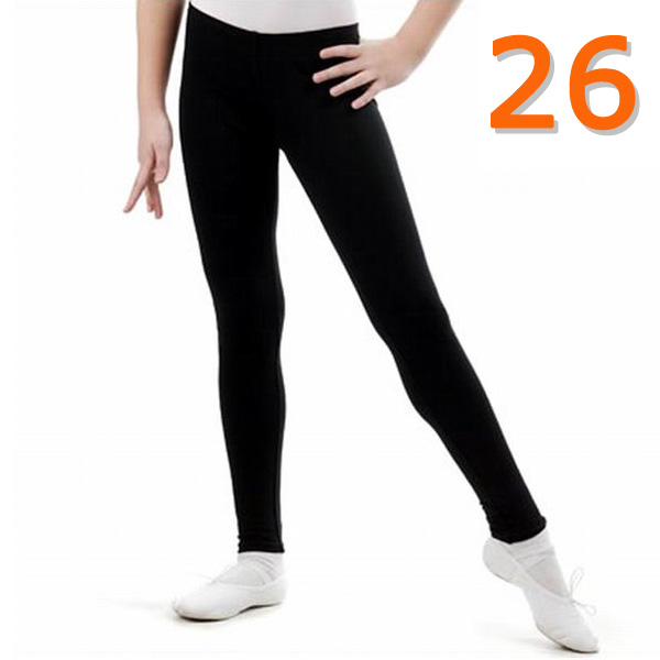 Leggings GP mod. NATALIE s. 26 (98-104) col. Black Art. B3V40-26