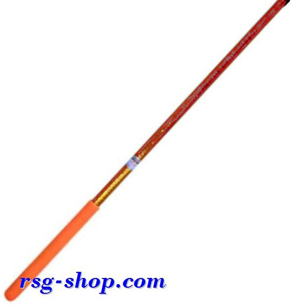 Stab 60cm Pastorelli Mirror col Orange Grip Orange FIG 03446