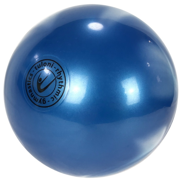 Ball Tuloni 18 cm Metallic Bi-Col. Blue x White Art. T0874