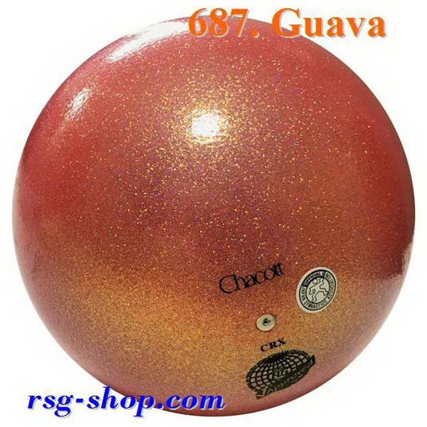 Ball Chacott Practice Prism 17cm col. Guava Art. 015-58687