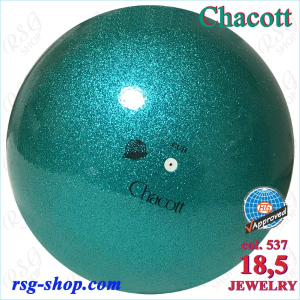 Ball Chacott Jewelry 18,5cm FIG col. Emerald Green Art. 01398537