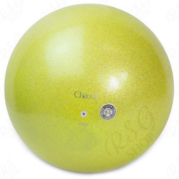 Ball Chacott Practice Prism 17cm col. Lime Yellow Art. 015-58632