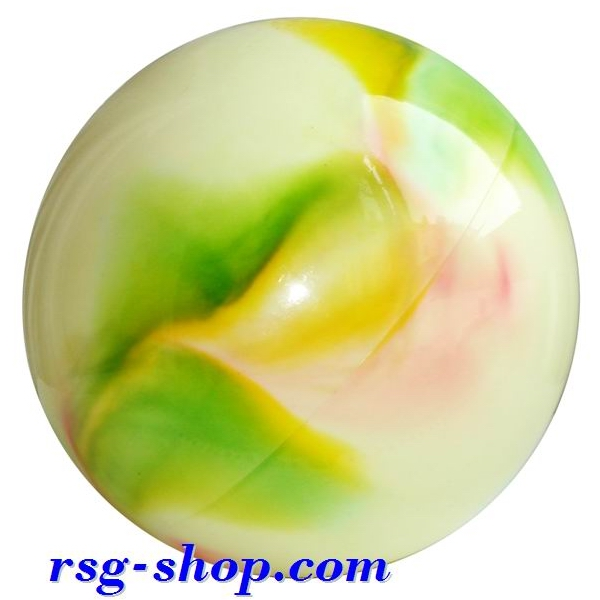Ball 16 cm Metallic-Multicolor col. Pink-Green-Yellow Art. T0119