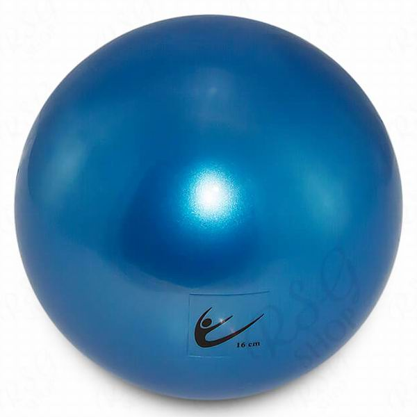 Ball Tuloni Junior 16 cm Metallic col. Blue Art. T0089
