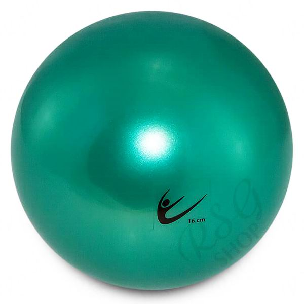 Ball Tuloni Junior 16 cm Metallic col. Green Art. T0092