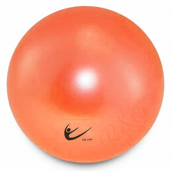 Ball Tuloni Junior 16 cm Metallic col. Light Orange Art. T0290