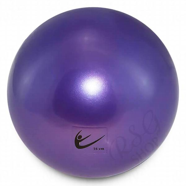 Ball Tuloni Junior 16 cm Metallic col. Viola Art. T0088