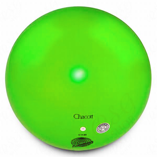 Ball Chacott 18,5cm FIG col. Lime Green Art. 00158032