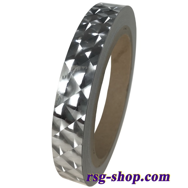 1 Meter x Chacott Diamond Tape col. Silver 007-98098
