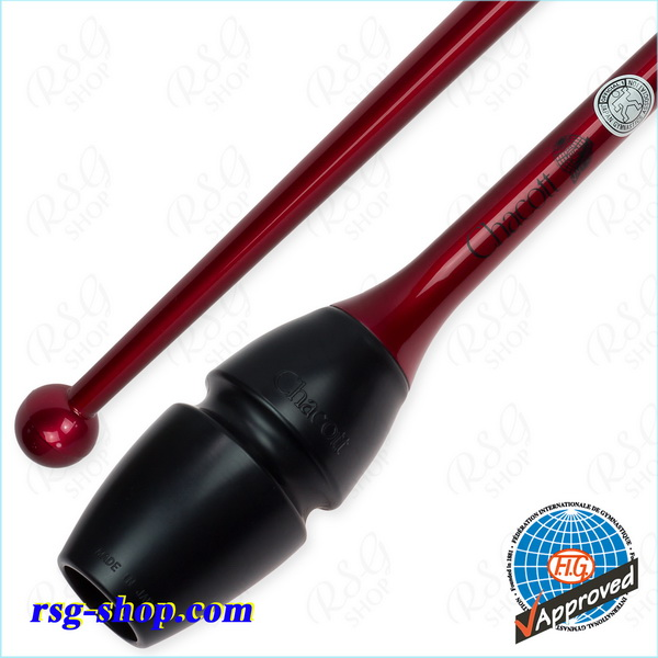 Hi-Grip Rubber Clubs Chacott 45 cm col. Garnet FIG Art. 05-98158