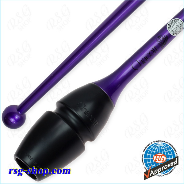 Hi-Grip Rubber Clubs Chacott 45 cm col. Violet FIG Art. 05-98174