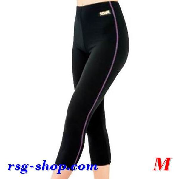 Kurzleggings Sasaki HW-1297L Hot Wear s. M (150~157) col. Black