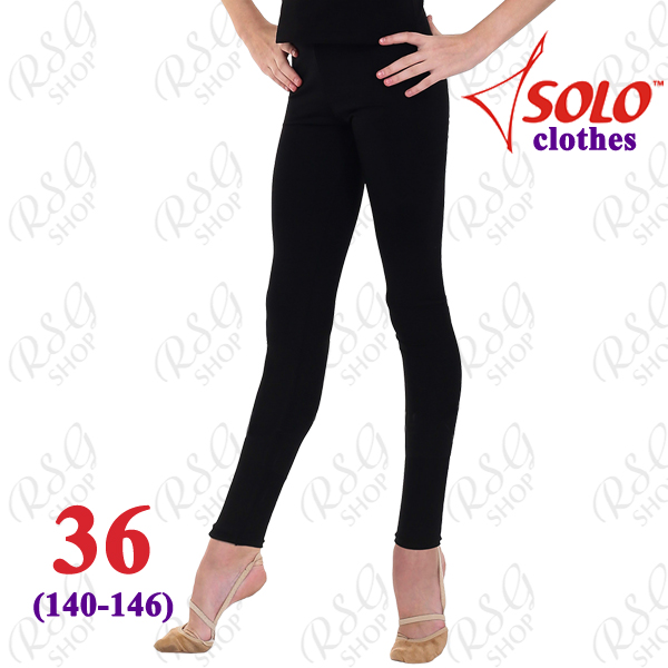 Leggings Solo FD700 s. 36 (140-146) Cotton Black FD700.107-36
