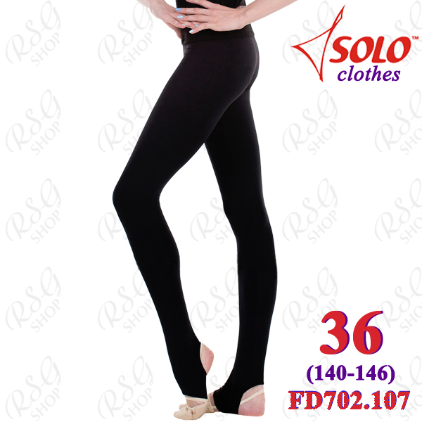 Leggings Solo s. 36 (140-146) Cotton Black FD702.107-36