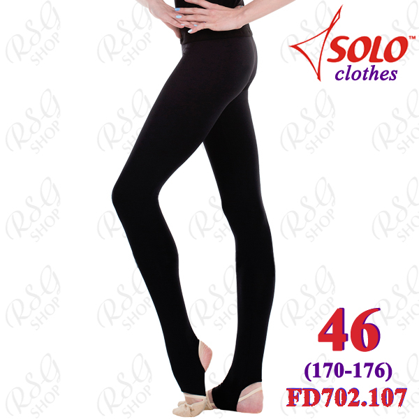 Leggings Solo s. 46 (170-176) Cotton Black FD702.107-46