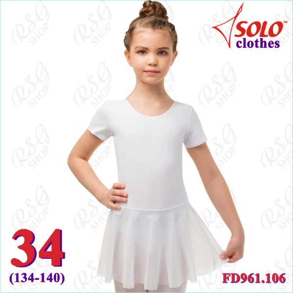 Trainingsanzug Solo s. 34 (134-140) Cotton col. White FD961.106-34