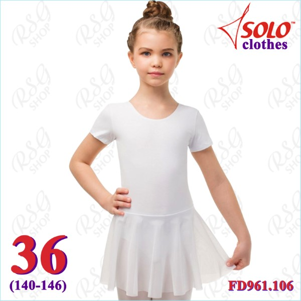 Trainingsanzug Solo s. 36 (140-146) Cotton col. White FD961.106-36