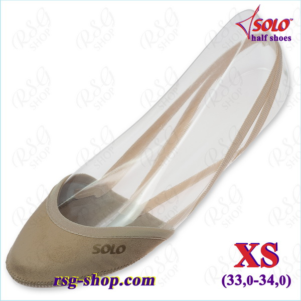 Kappen Solo OB10 Suede s. XS (33-34) col. Skin OB10.52-XS