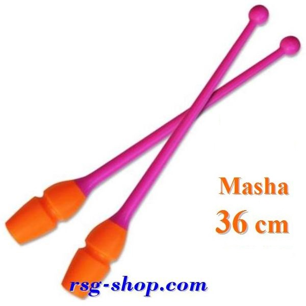 Keulen Pastorelli Junior 36 cm Masha col. Rosa-Orange 04233