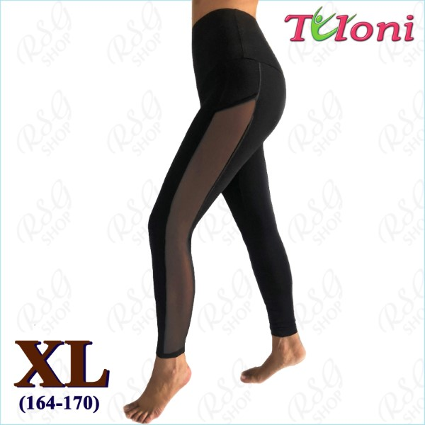 Leggings Tuloni mod. Gella Gr. XL (164-170) col. Black Art. LD03C-BXL