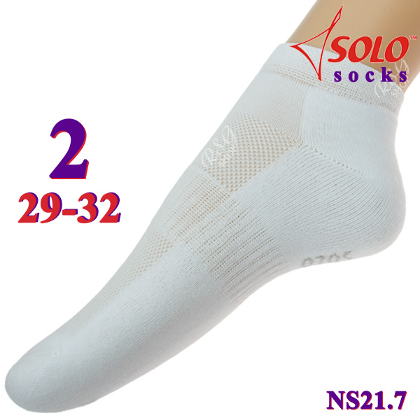 Socken Solo NS21 col. White s. 2 (29-32) Art. NS21.7-2