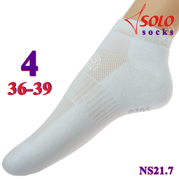 Socken Solo NS21 col. White s. 4 (36-39) Art. NS21.7-4