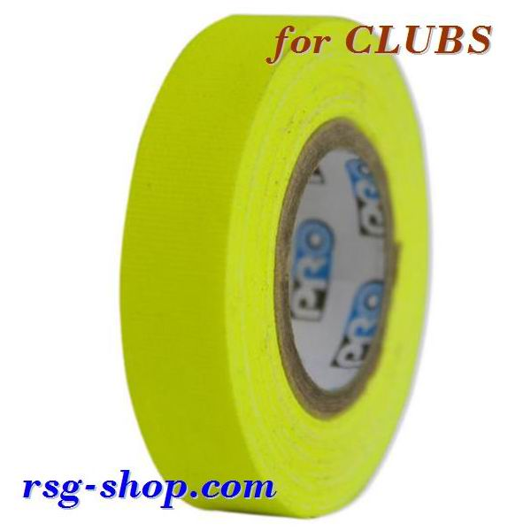 Tape for Clubs Pastorelli Telati col. Yellow Fluo Art. 03511