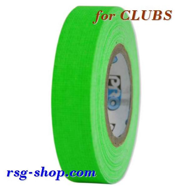 Tape for Clubs Pastorelli Telati col. Green Fluo Art. 03514