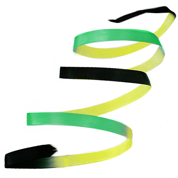 Band Pastorelli 5m Gradation Black-Yellow-Green 03221