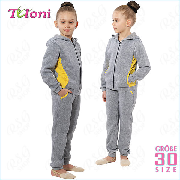 Sportanzug Tuloni col. Grey-Yellow s. 30 (110-116) OK11415P-Y30