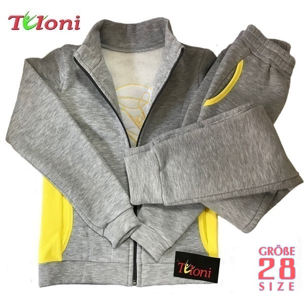 Sportanzug Tuloni col. Grey-Yellow s. 28 (104-110) OK11415PZ-Y28