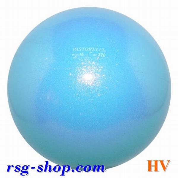 RSG palla Gara Ball Palla da ginnastica Pastorelli BIANCO GLITTER Junior 16cm NUOVO