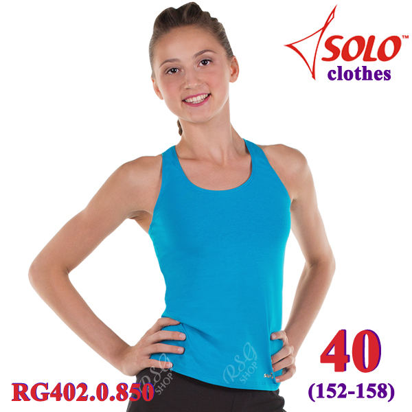 Top Solo s. 40 (152-158) Cotton Turquoise RG402.0.850-40