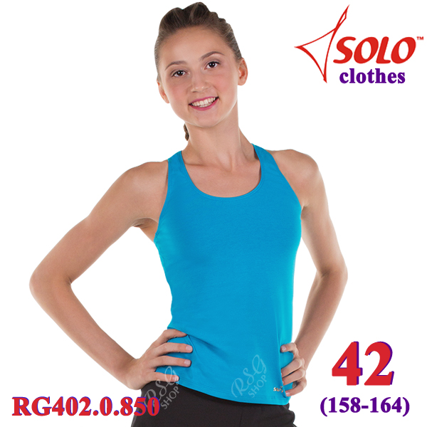 Top Solo s. 42 (158-164) Cotton Turquoise RG402.0.850-42