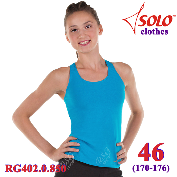Top Solo s. 46 (170-176) Cotton Turquoise RG402.0.850-46