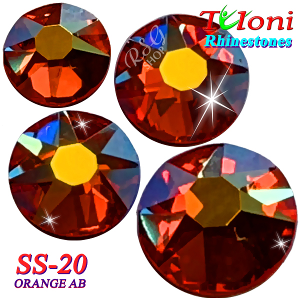 Strass Tuloni SS20 col. Orange AB 1440 mod. Basic HotFix