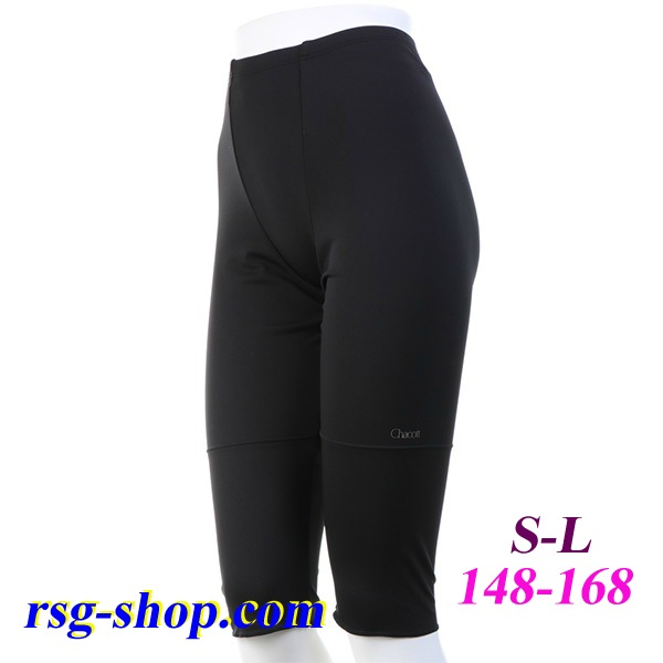 Adult ROLLING LEGGINGS 2 Chacott s. S-L col. Black Art. 004-88009