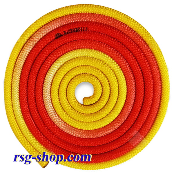 Seil 3m Pastorelli mod. New Orleans col. Yellow-Orange-Red FIG 04263