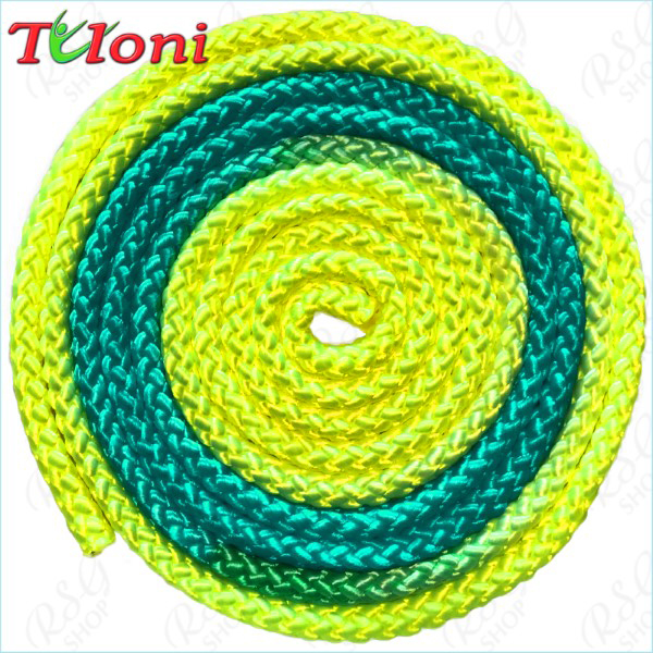 Seil Tuloni Bi-col. Neon_Yellow-Neon_Blue-Neon_Yellow Art. T0984